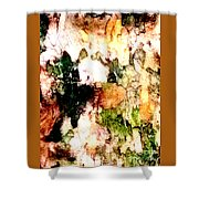 Tree Bark 1 Abstract Shower Curtain