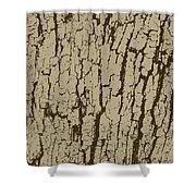 Tree Bark Texture Brown Shower Curtain