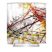 The Big Fall Shower Curtain