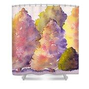 Tree Family Shower Curtain
