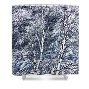 Tree Fantasy 14 Shower Curtain