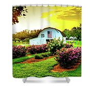 Tree Farm Shower Curtain