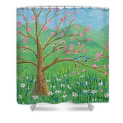 Tree For Two Shower Curtain