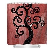 Tree I Wr Shower Curtain