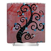 Tree II Wr Shower Curtain