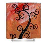 Tree IIi Wr Shower Curtain