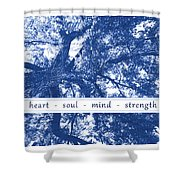 Tree In Your Heart Shower Curtain