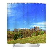 Spring Scenes #1 Shower Curtain