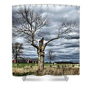 Tree Man Shower Curtain