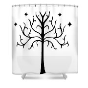 Tree Of Gondor Crest Shower Curtain