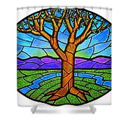 Tree Of Grace - Spring Shower Curtain