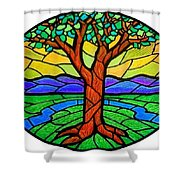 Tree Of Grace - Summer Shower Curtain