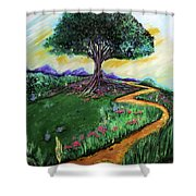 Tree Of Imagination Shower Curtain