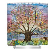 Tree Of Life #1 Shower Curtain