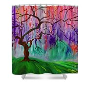 Tree Of Life 111 Shower Curtain