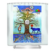 Tree Of Life #5 Shower Curtain