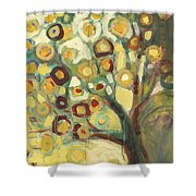 Tree Of Life In Autumn Shower Curtain