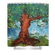 Tree Of Plenty Shower Curtain