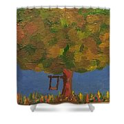Tree Of Youth Shower Curtain