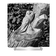 Tree Owl  Shower Curtain