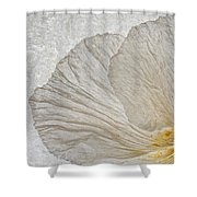 Tree Poppy Shower Curtain