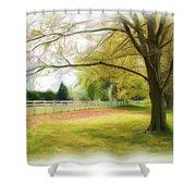Tree Series 1324 Shower Curtain