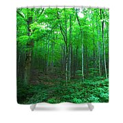 Tree Stand Shower Curtain