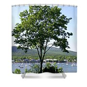 Tree Standing Tall Shower Curtain