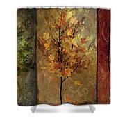 Tree Story Shower Curtain