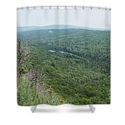 Tree Top Valley Shower Curtain