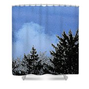 Tree Tops 1 Shower Curtain