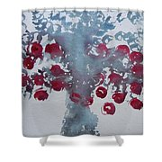 Tree With Balls Eight Shower Curtain