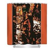 Tree Woman / 2 Shower Curtain