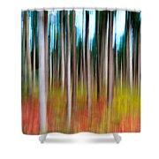 Treecolour Shower Curtain
