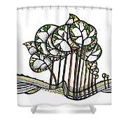Treeland Shower Curtain