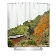 Trees 025 Shower Curtain