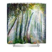 Trees 1 Shower Curtain
