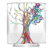 Trees 17 Shower Curtain