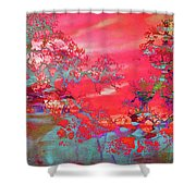 Trees 67 Shower Curtain