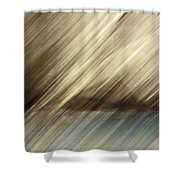 Trees And Pond Shower Curtain