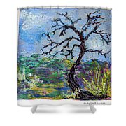 Tree's End Shower Curtain