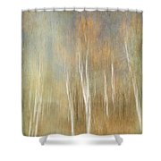 Trees Ethereal Grove Shower Curtain