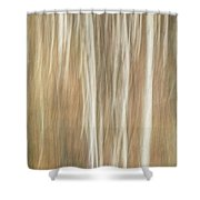 Trees Ethereal Thicket Shower Curtain