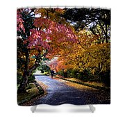 Trees In Japan 1 Shower Curtain