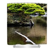 Trees In Japan 14 Shower Curtain