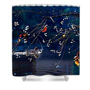 Trees In Japan 5 Shower Curtain
