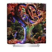 Trees Of Bellagio Shower Curtain
