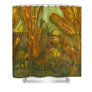 Trees Shower Curtain