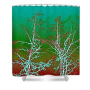 Treetops 2 Shower Curtain