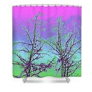 Treetops 5 Shower Curtain